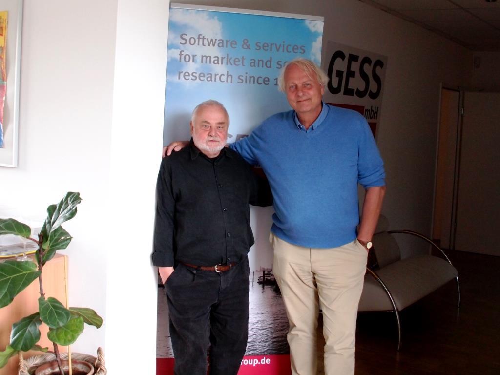 Knut Holzscheck und Reinhard Schlinkert (dimap)