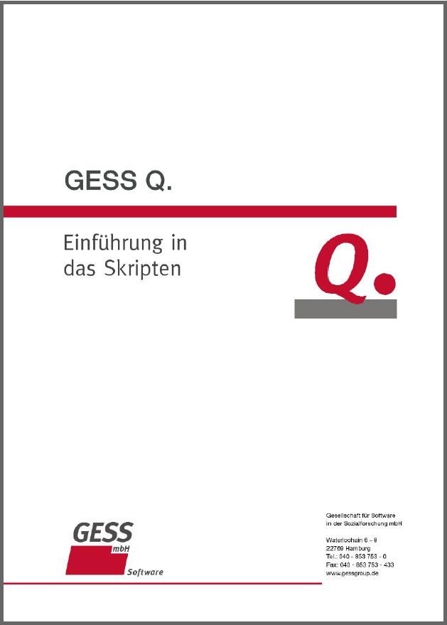 GESS Q.-Tutorial-Vorschau