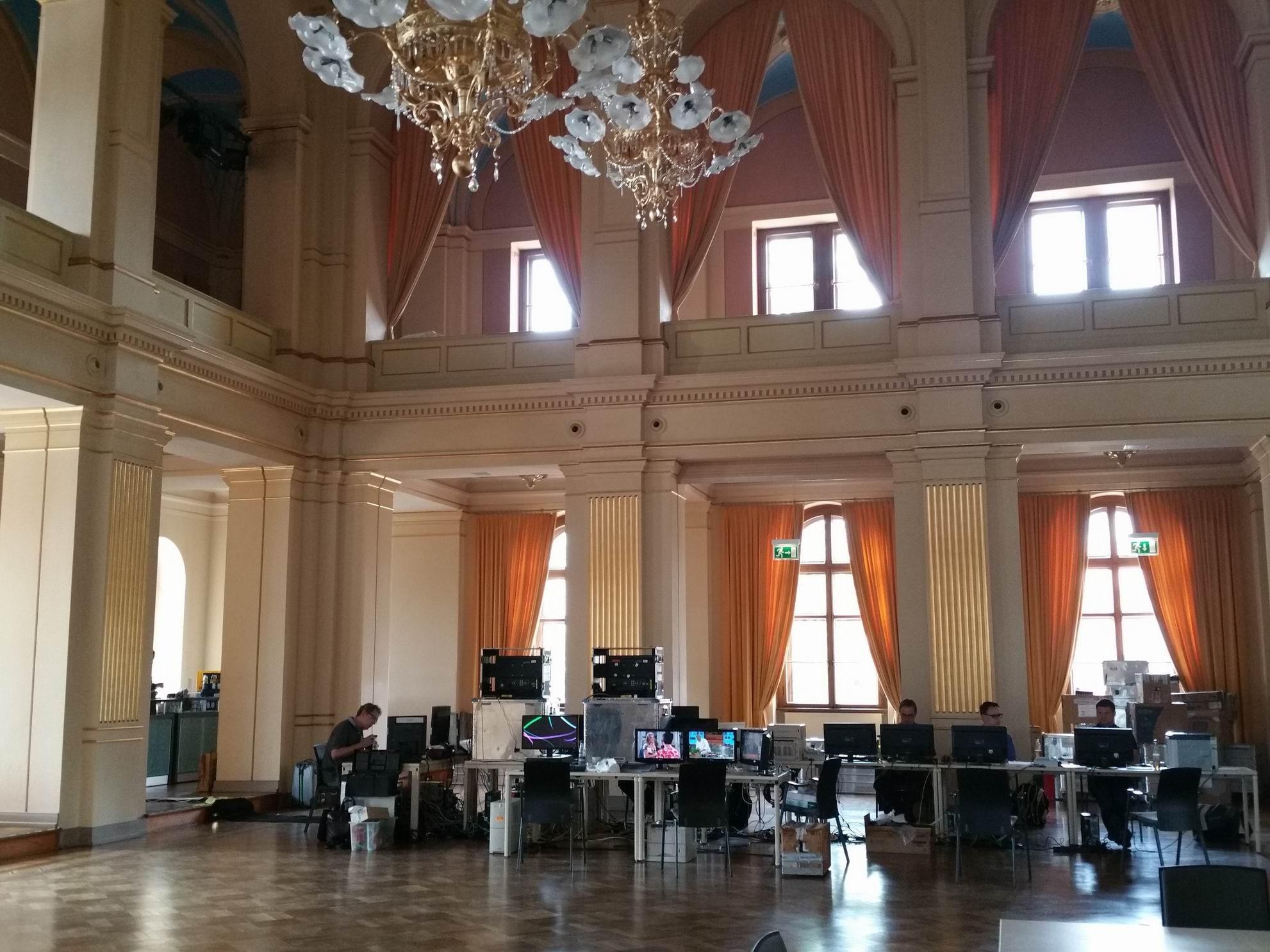 Hinter den Kulissen: Arbeit für die Wahlberichterstattung zur Landtagswahl in Mecklenburg-Vorpommern 2016